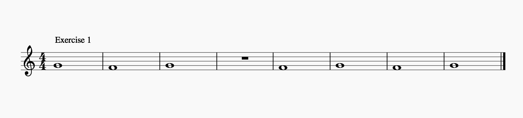 Duduk Scales C Major - Exercise 1