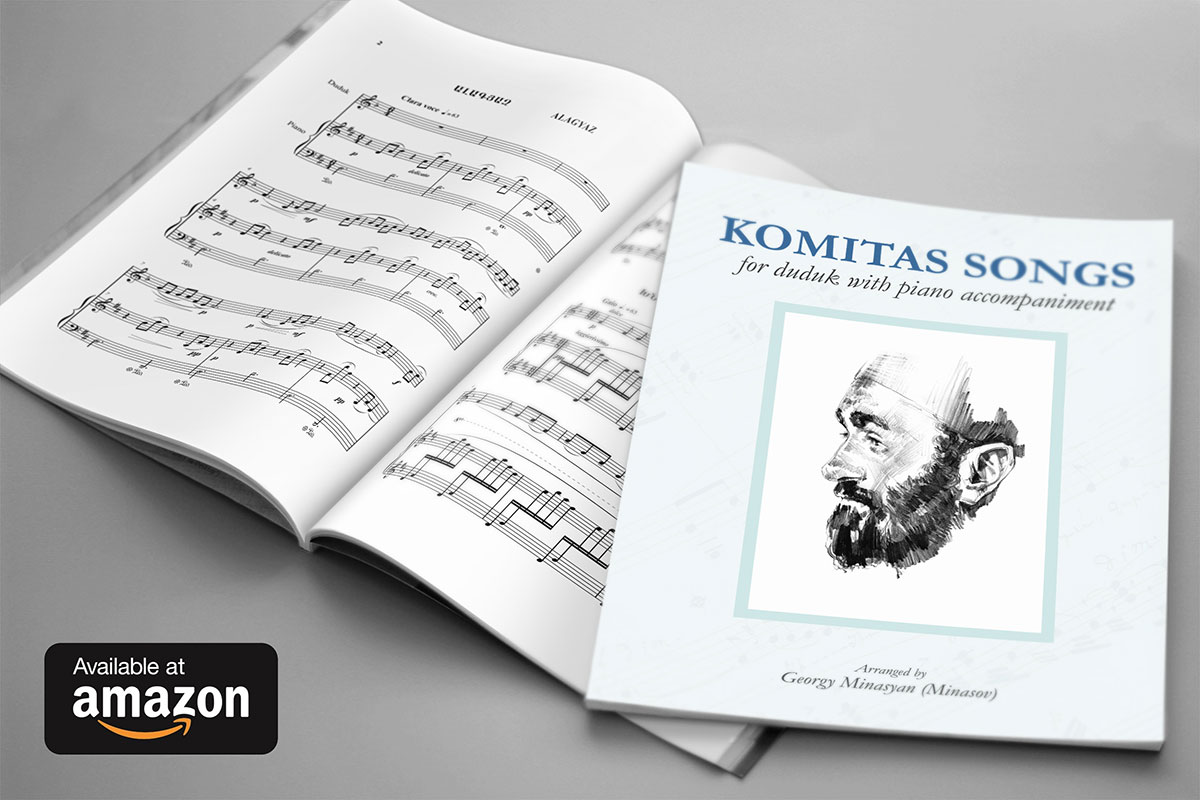 Komitas Songs For Duduk With Piano Accompaniment Cover